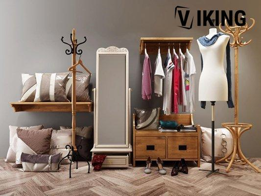 1211.Hanging Clothes Shoes 3dsmax File free download