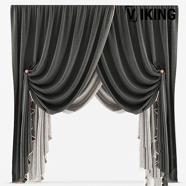 1360.Curtain Sketchup File free download