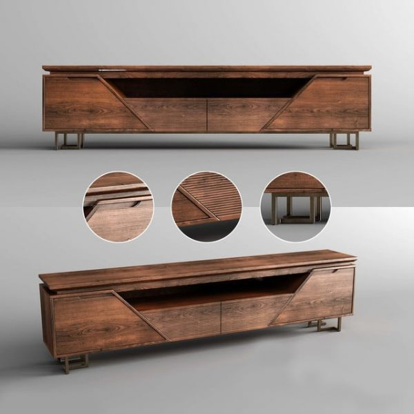 139 TV Cabinet 3dsmax Model Free Download By Le Tuan Anh 1