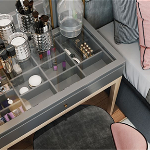 1529.Dressing Table 3dsmax File free download by D3 Studio