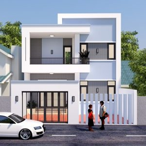2063 Exterior House Sketchup Model By Nguyen Duc Dung Free Download
