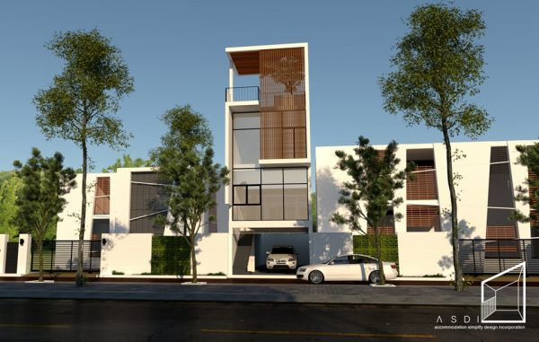 2110 Exterior House Sketchup Model By Thanh Phong Nguyen Free Download