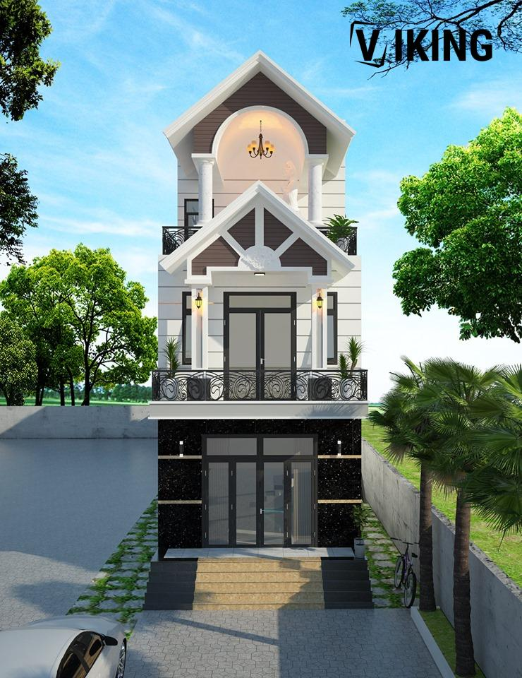 2161 Exterior House Scene Sketchup Model By Than Arc Free Download 1