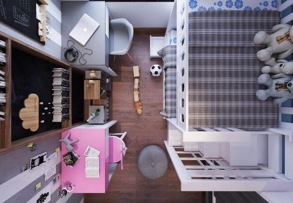 2191.Child Bed Sketchup File free download by BinhThanhTran 4