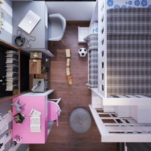 2191.Child Bed Sketchup File free download by BinhThanhTran 4 768x533 1