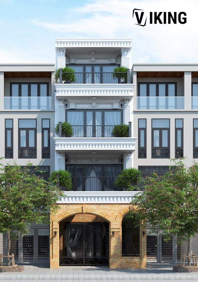 2201 Exterior House Scene Sketchup Model By Xuan Khanh Free Download 2