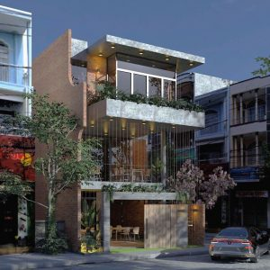 2689 Exterior House Sketchup Model by Lee Min Dung Free Download 2