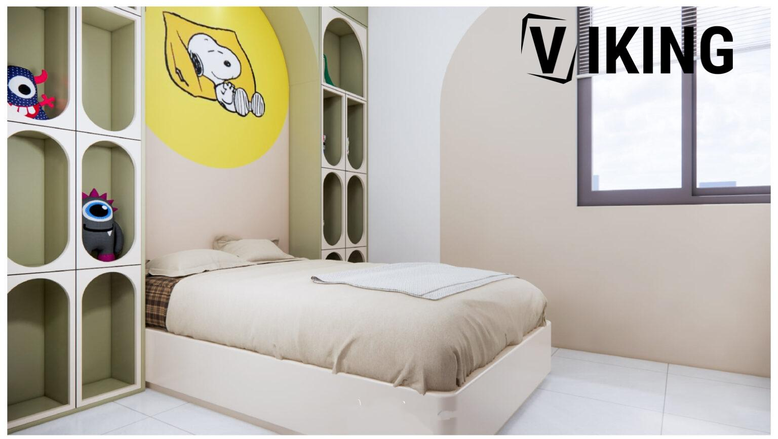 2730.Child Bed Sketchup File free download by Le Nguyen Van Thuyen 1 1536x868 1