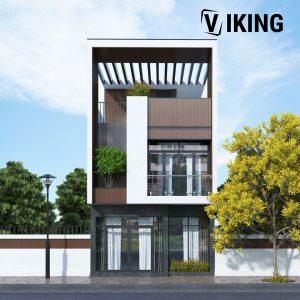 2805 Exterior House Scene Sketchup Model By XuanKhanh Free Download 1