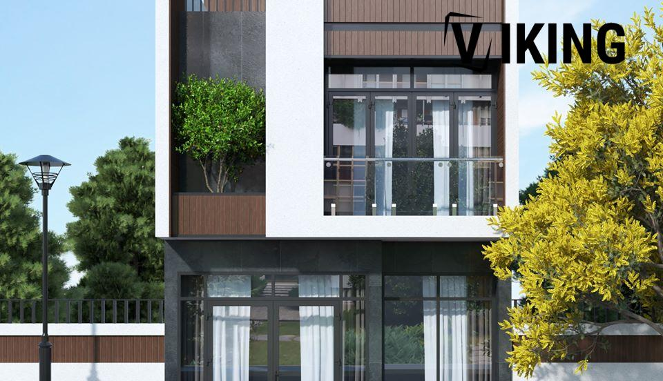 2805 Exterior House Scene Sketchup Model By XuanKhanh Free Download 2