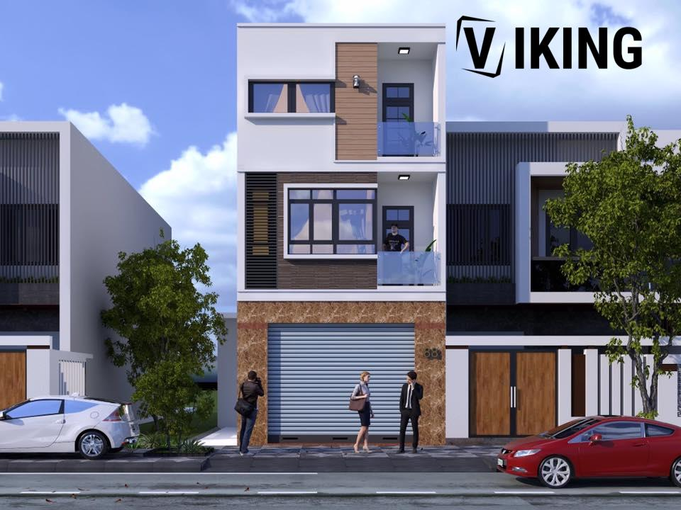 2815 Exterior House Scene Sketchup Model By MinhHoang Free Download 1