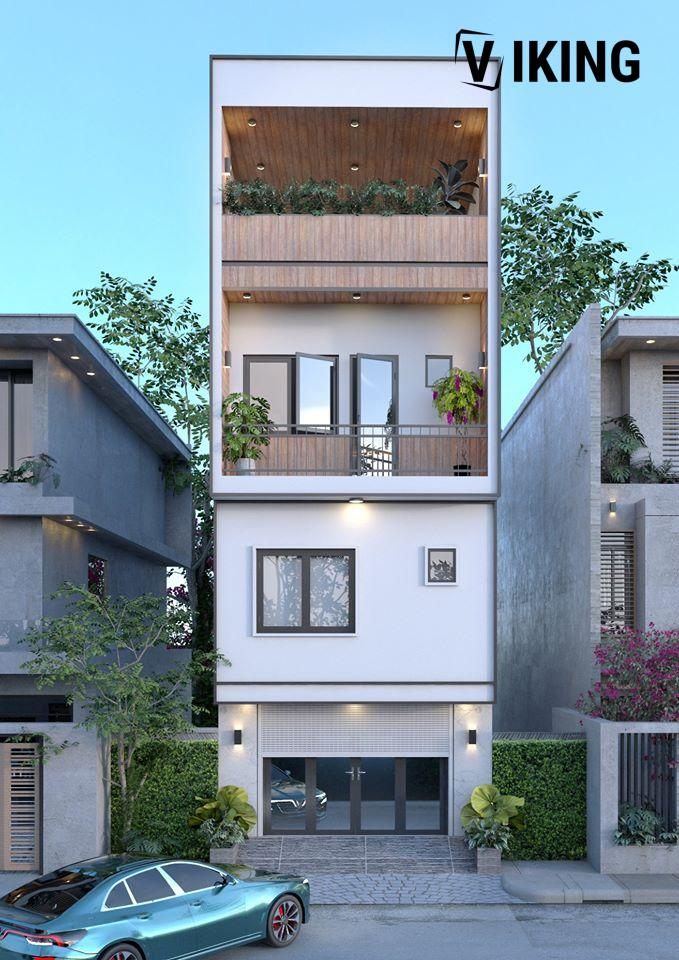 2952 Exterior House Scene Sketchup Model by Lee Min Dung Free Download 1
