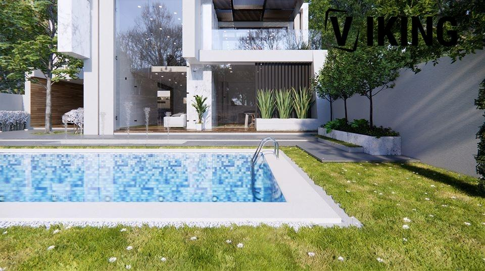 2985 Exterior House Scene Sketchup Model by DatHouzz Free Download 1