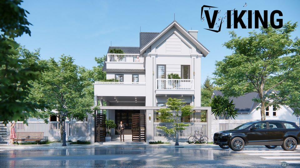 2997 Exterior House Scene Sketchup Model by DatHouzz Free Download 1