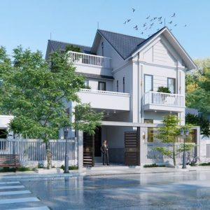 2997 Exterior House Scene Sketchup Model by DatHouzz Free Download 2
