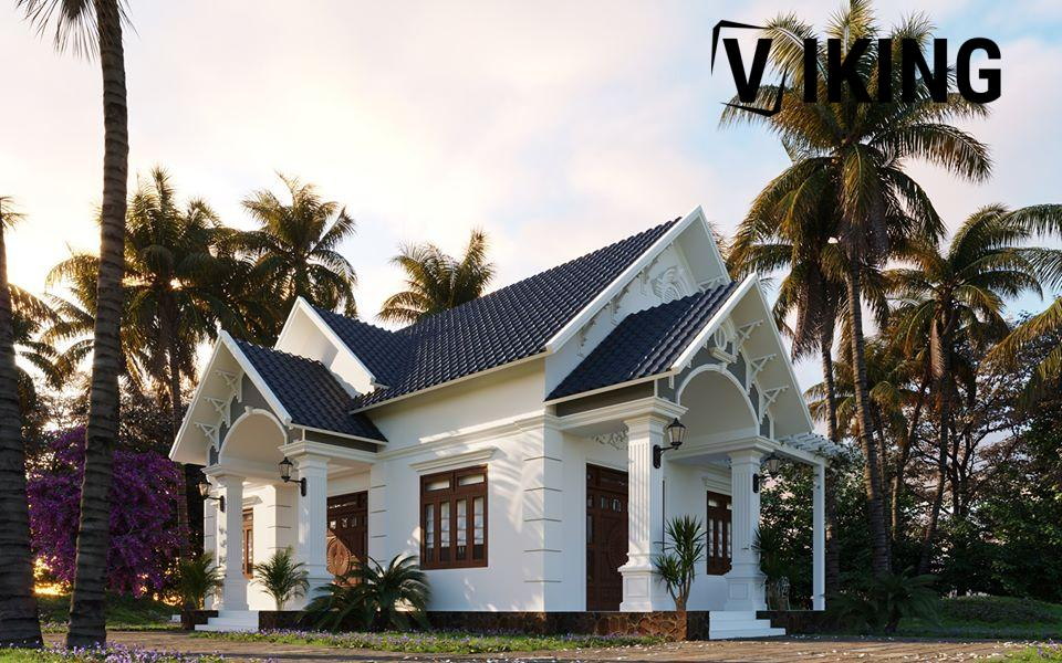 3004 Exterior House Scene Sketchup Model by Ngan Nguyen Free Download 1