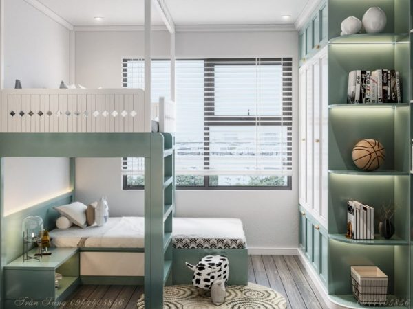 3008.Child Bed Sketchup File free download By Quang Sang 2 768x576 1