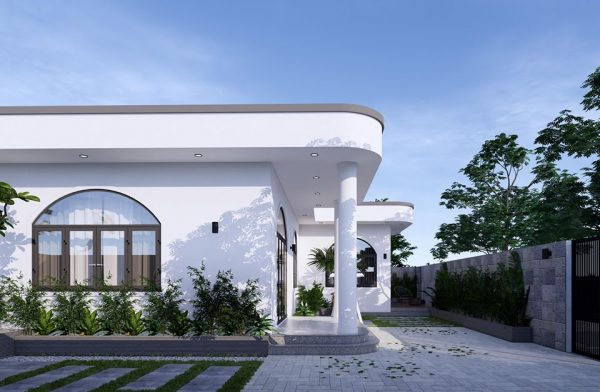 3047 Exterior House Scene Sketchup Model by PhamThanhCong Free Download 2
