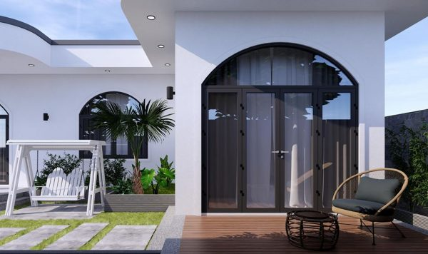 3047 Exterior House Scene Sketchup Model by PhamThanhCong Free Download 3