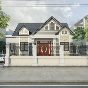 3082 Exterior House Scene Sketchup File free download by Atonio Ly 1