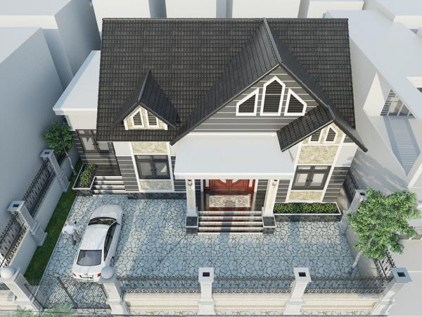 3082 Exterior House Scene Sketchup File free download by Atonio Ly 3