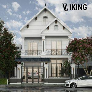 3087 Exterior House Scene Sketchup Model by Tee Tran Free Download 1
