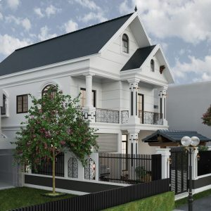 3087 Exterior House Scene Sketchup Model by Tee Tran Free Download 3