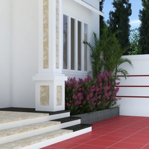 3374 Exterior House Scene Sketchup Model By NgocAnhCao Free Download 5