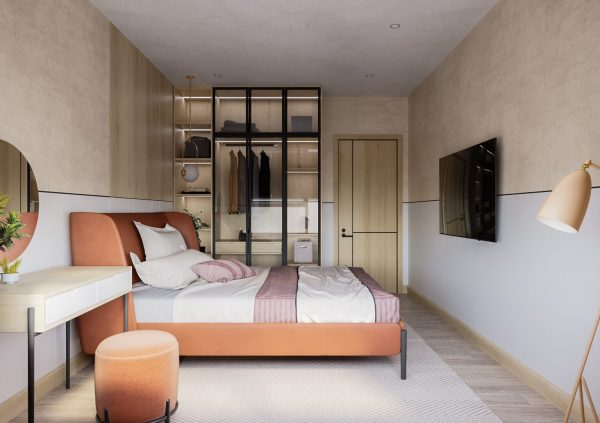3503.Bedroom Scene 3dsmax File free download by Tuan An 2 1536x1084 1