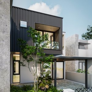3612 Exterior House Scene Sketchup Model By Quoc Vi Phan 2