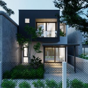 3612 Exterior House Scene Sketchup Model By Quoc Vi Phan 4