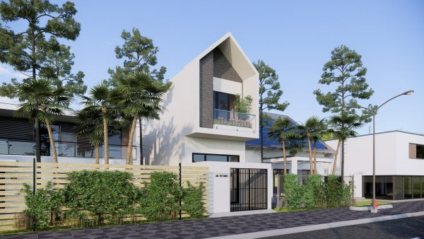 3834 Exterior House Scene Sketchup Model By DuongDuong 3