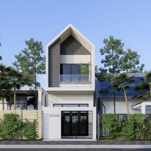 3834 Exterior House Scene Sketchup Model By DuongDuong 5