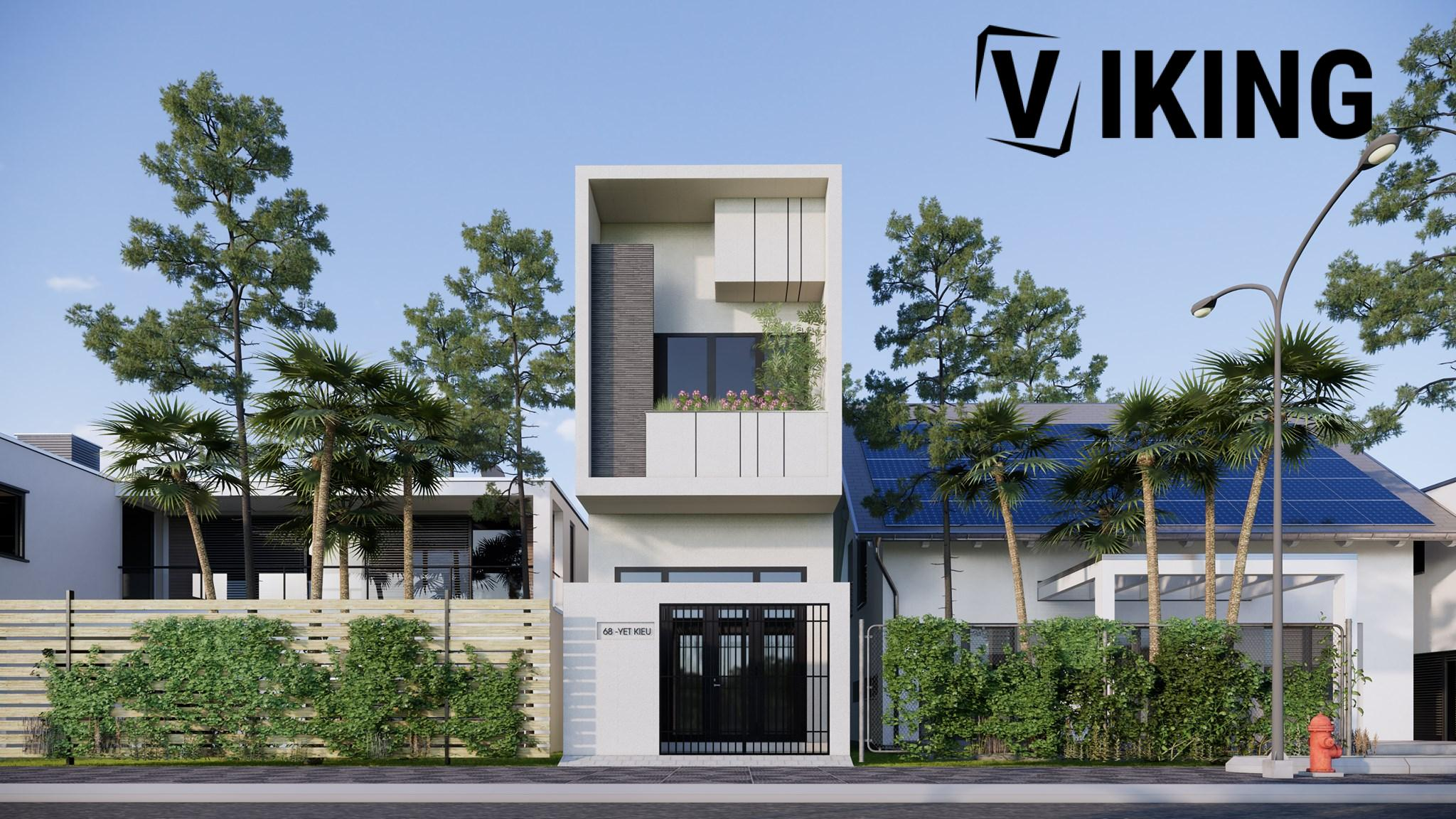 3834 Exterior House Scene Sketchup Model By DuongDuong 6
