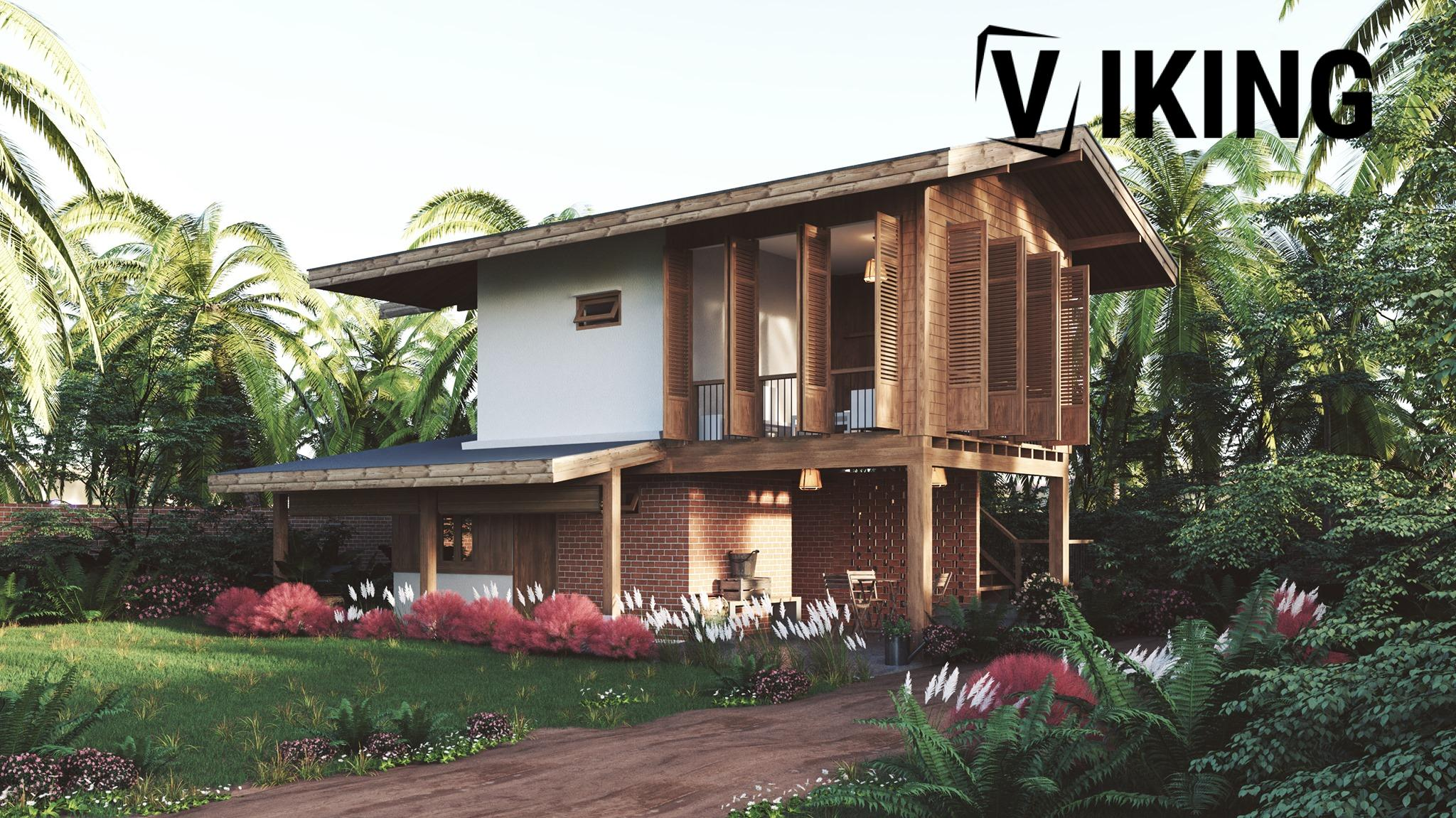 3863 Exterior House Scene Sketchup Model By Chi Cong Le 2
