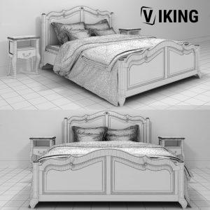 3D Bed Chateau HRL0 LG and nightstand open Chateau HRC1 Model 199 Free Download 2 1536x1536 1