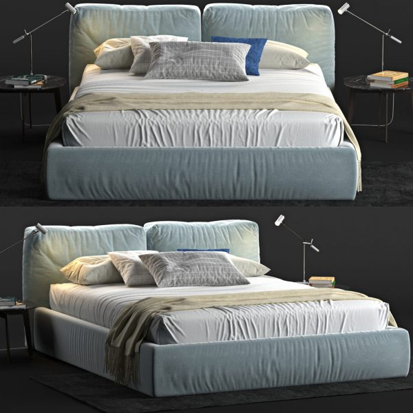 3D Bed Model 199 Free Download 1536x1536 1