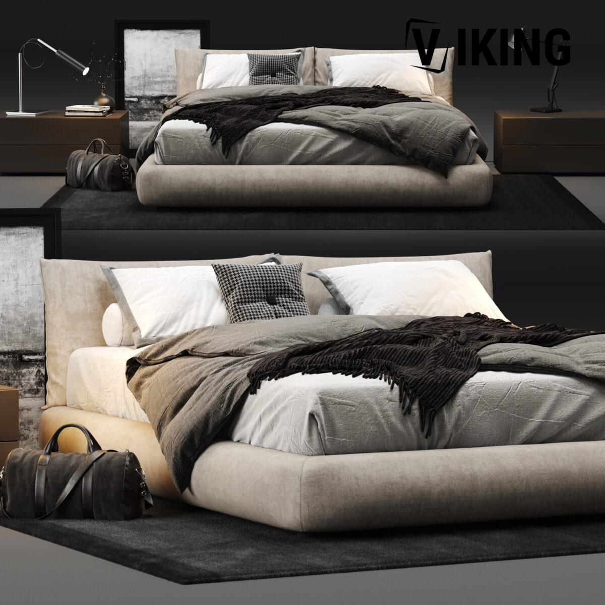 3D Bed Model 201 Free Download 1 1200x1200 1