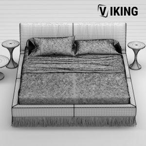 3D Gamma Marilyn Bed Model 153 Free Download 5 scaled 1