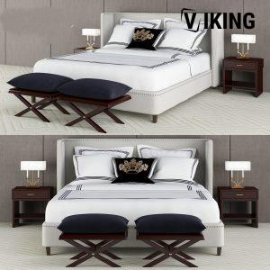 3D Jacques Garcia Collection Bed Model 159 Free Download 1200x1200 1