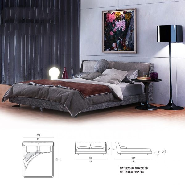 3D Minotti Spencer Bed Model 173 Free Download 1 1200x1200 1
