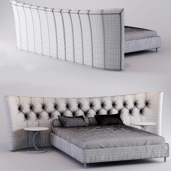 3D Opera BUTTERFLY Bed Model 180 Free Download 4 1200x1200 1