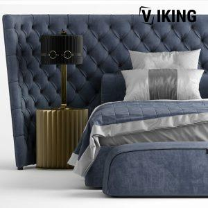 3D Vittoria Frigerio MEDICI LARGE Bed Model 193 Free Download 3 scaled 1