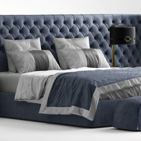 3D Vittoria Frigerio MEDICI LARGE Bed Model 193 Free Download 4 scaled 1