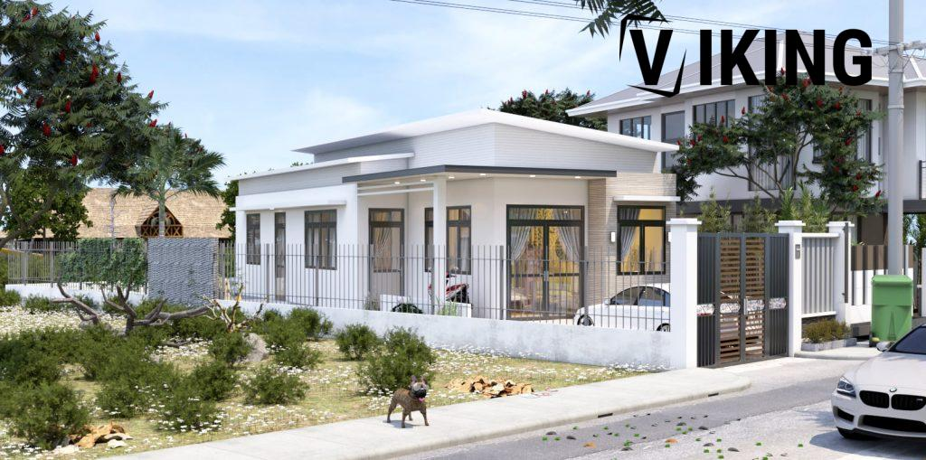 4146 Exterior House Scene Sketchup Model Free Download by Duy 1
