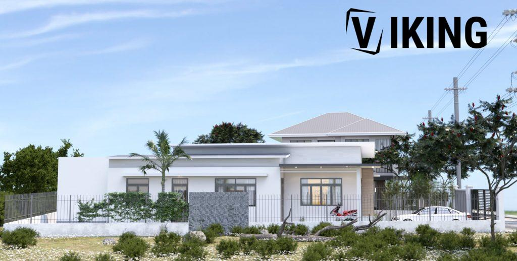 4146 Exterior House Scene Sketchup Model Free Download by Duy 2
