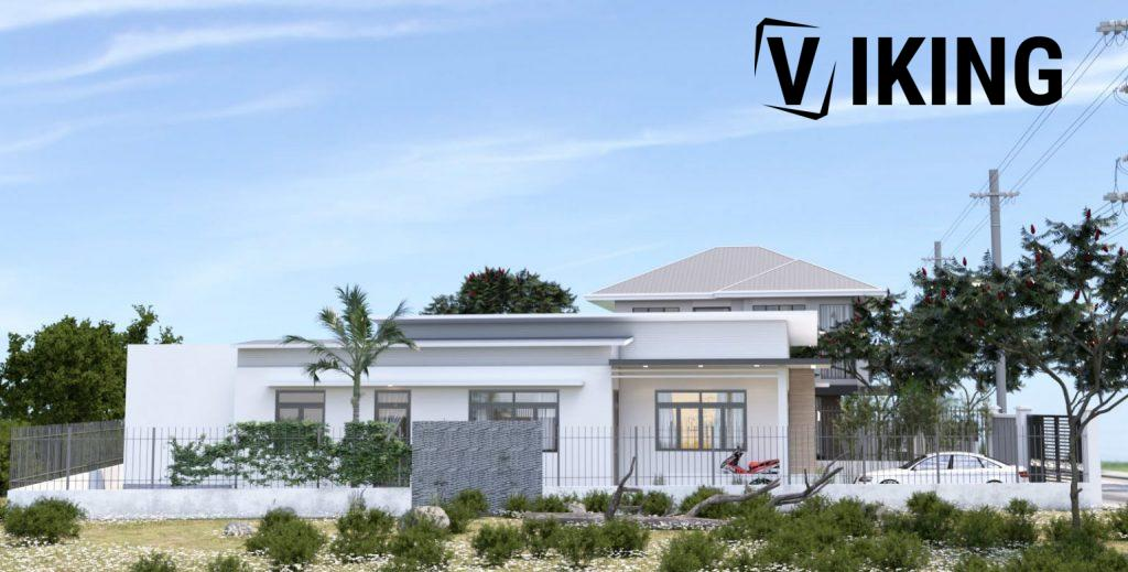 4146 Exterior House Scene Sketchup Model Free Download by Duy 2 1536x778 1