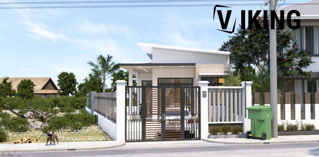 4146 Exterior House Scene Sketchup Model Free Download by Duy 3 1