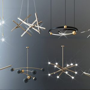 4194.Ceiling Lights Collection Sketchup File free download by Cuong CoVua 1 1536x922 1