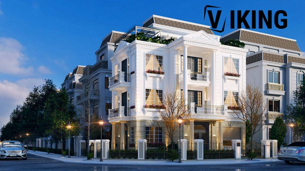 4211 Exterior Villa Scene Sketchup Model by An Ly 1